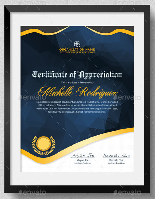 Multipurpose School Certificate Template