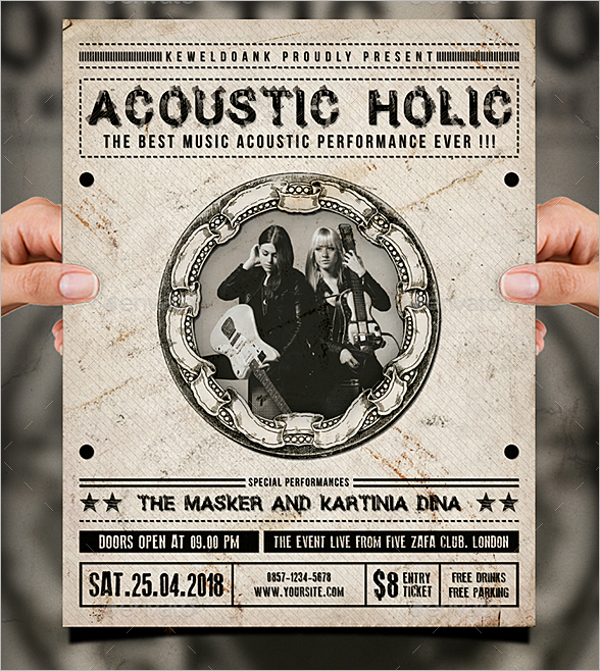 Music Performance Flyer Template