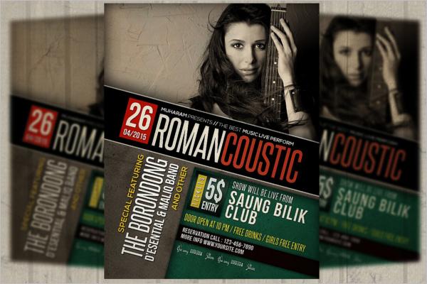 Music Poster Design Template