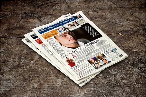 46 Newspaper Mockup Psd Templates Free Mockups Designs