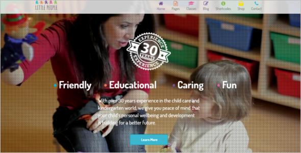 Nurseries Kindergarten WordPress Theme