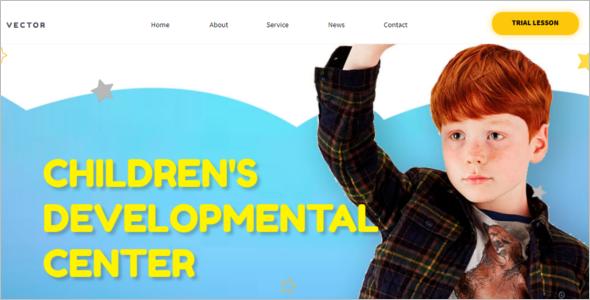 Nursery Drupal Website Template