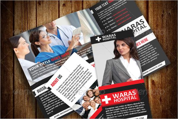 Nursing School Hospital Brochure Template