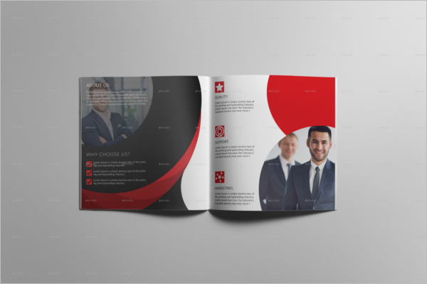 Office Brochure Template Bifold