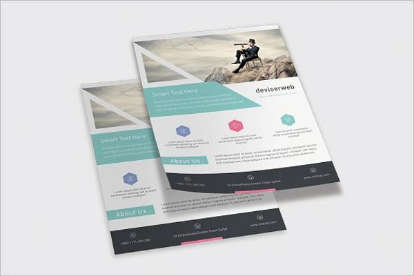 Office Flyer Template PSD