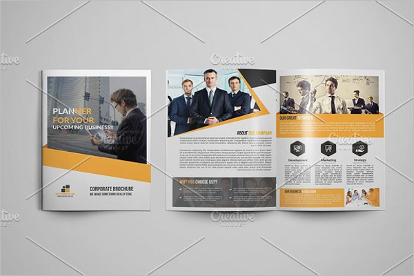 Office Team Brochure Template