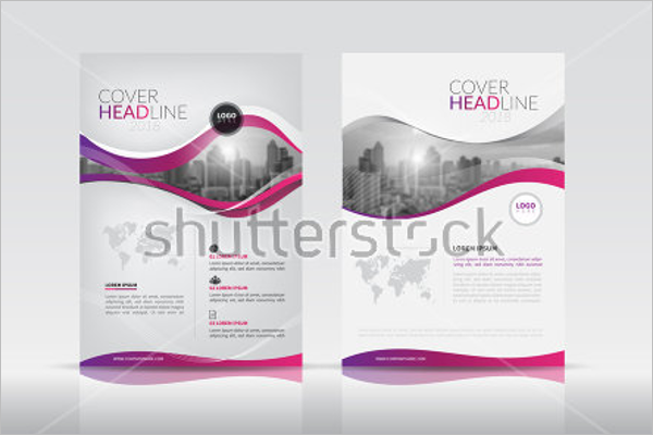 Online Company Brochure Template
