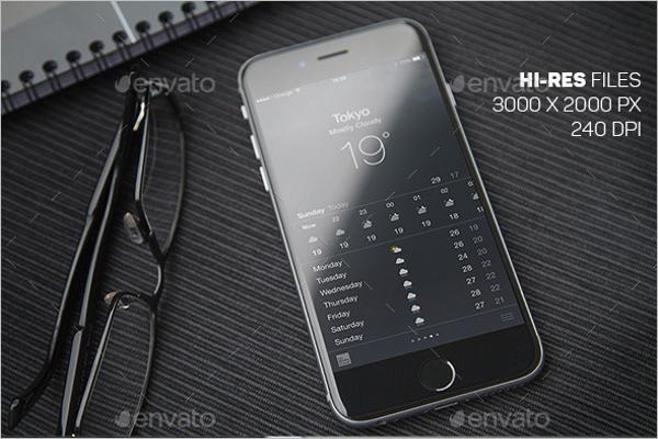 Online Mobile Mockup
