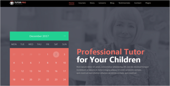 Online School WordPress Theme