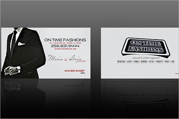 Online custom business card Design