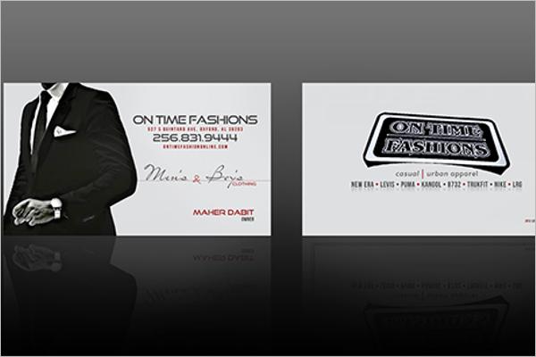 Online custom business card Design