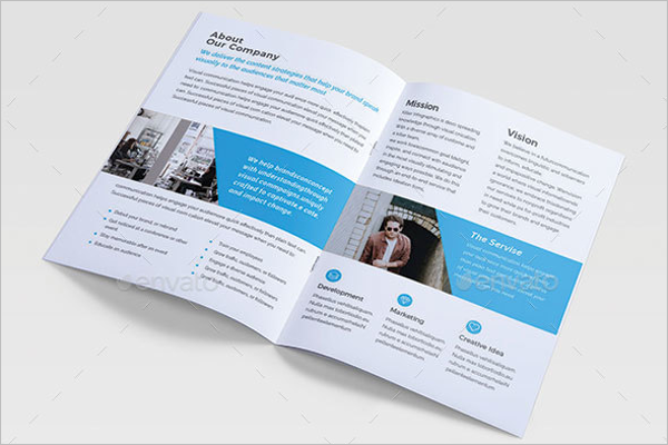 Open Office Brochure Template