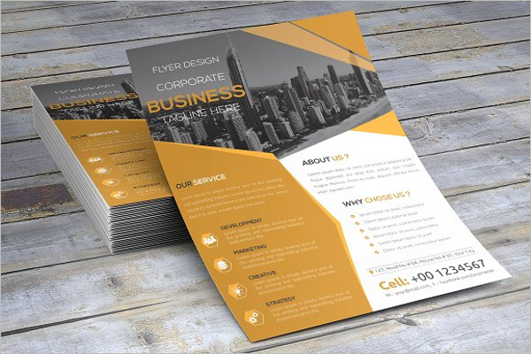 Open Office Flyer Template