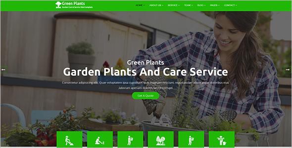Organic Store Website Template