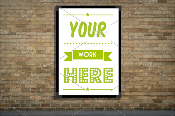 Outdoor Advertising Poster Template