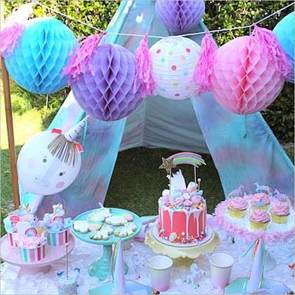OutdoorBirthday party Idea