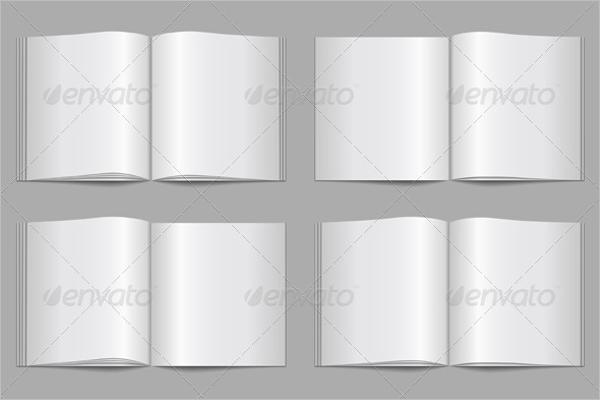 PDF Blank Brochure Template