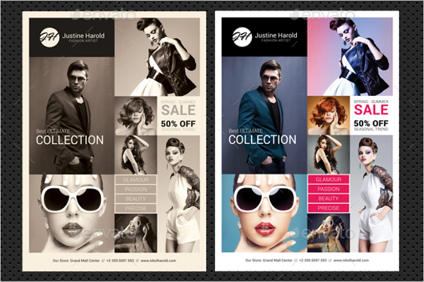 Poster Design Template PSD