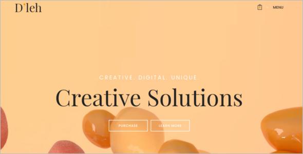 PSD Website Template