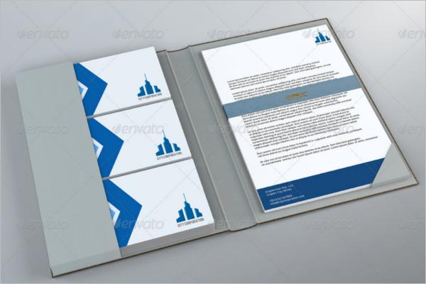 Paper Portfolio Mockup Design