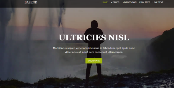 Personal Blog Website Template