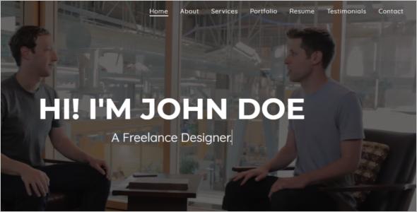 Personal Blog Website Theme