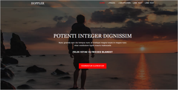 Personal Free Website Template