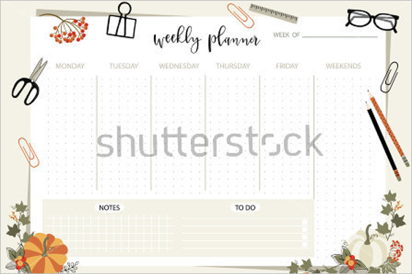 Personal Planner Template