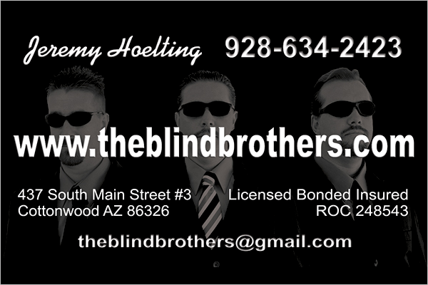 Personalized Business Card Design
