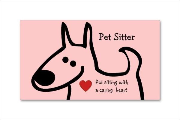 Pet Daycare business Card Design