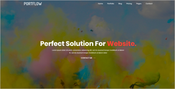 Photography Portfolio Website Template