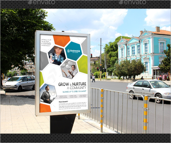Photoshop Company Poster Template