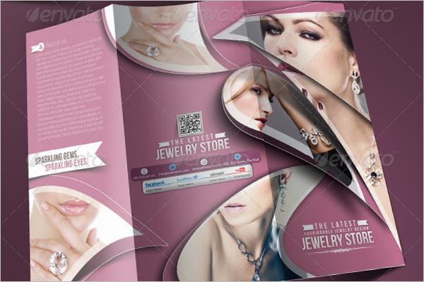PhotoshopJewelry Brochure Design