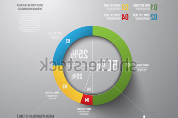 Pie Chart Graphic Template