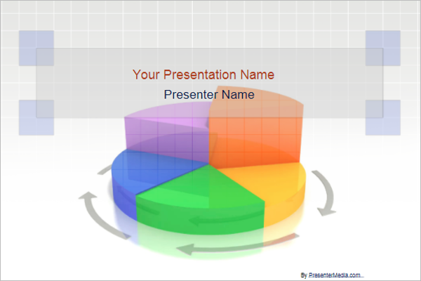 Pie Chart Presentation Template