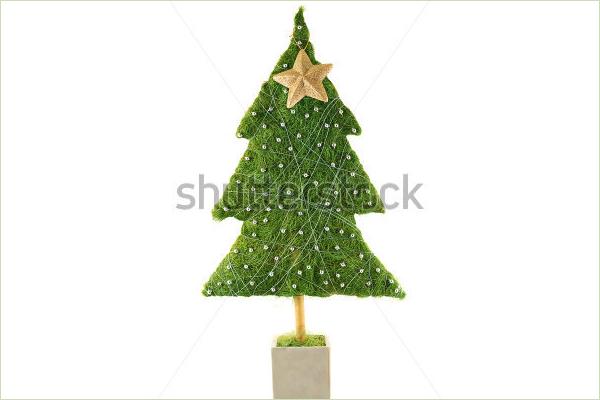 Pink Christmas Tree Idea
