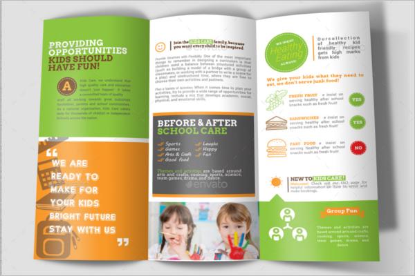 Play School Kids Brochure