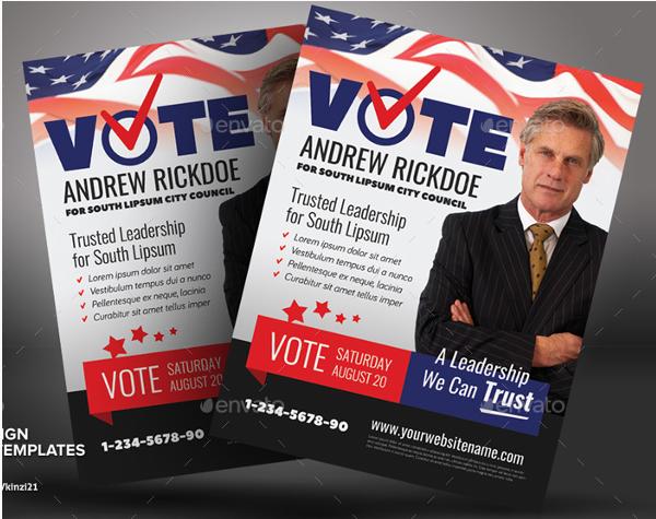 Political Campaign Template