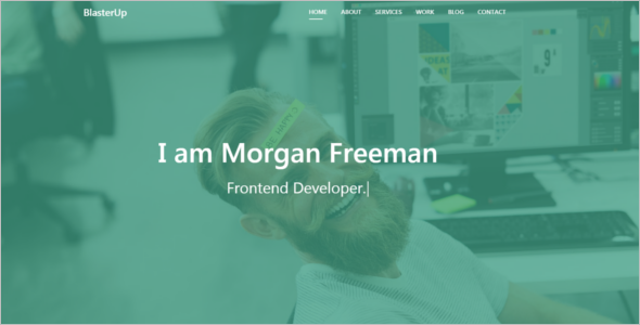 Portfolio Design Website Template