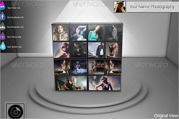 Portfolio Mockup Display