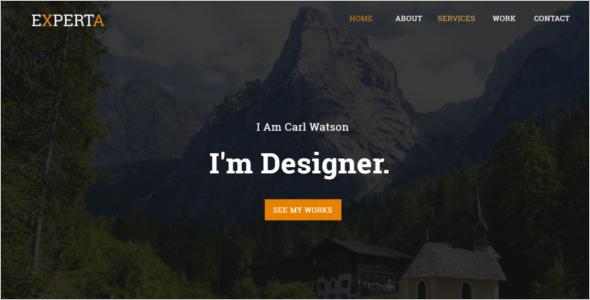 Portfolio Personal Website Template