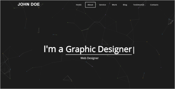Portfolio Web Website Template