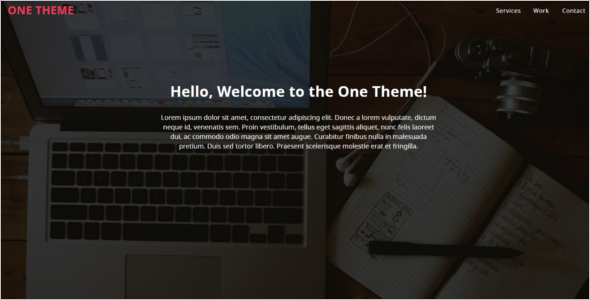 Portfolio Website Example Template