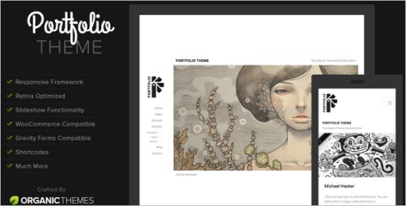 Portfolio Website Template HTML