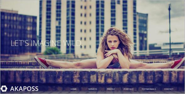 Portfolio Website Template