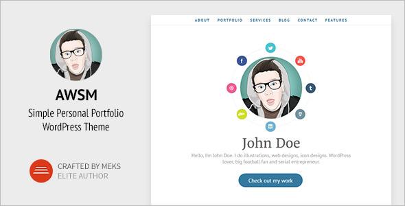 Portfolio Website Theme