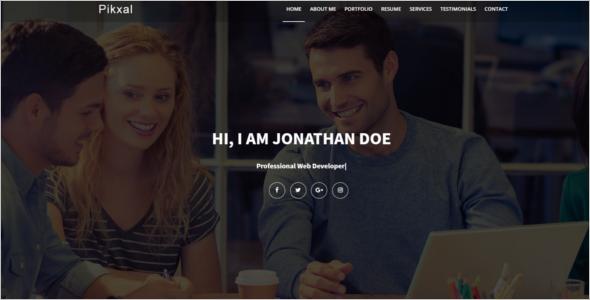 Portfolio Website WordPress Theme