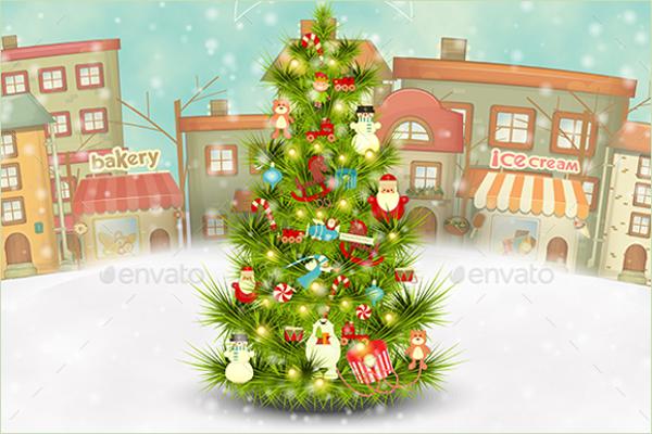 Pre Lit Christmas Tree Design