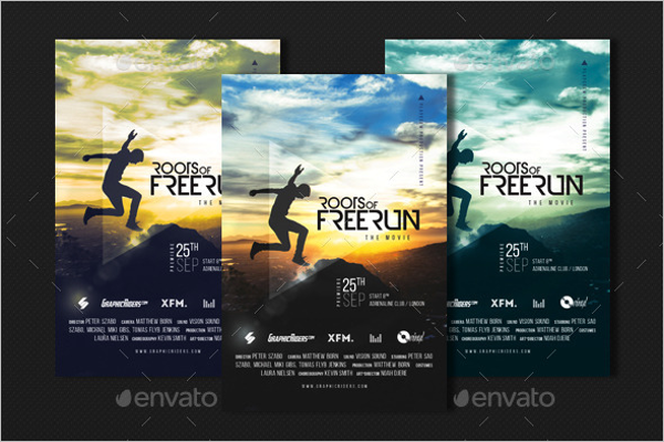 Premiere Movie Poster Template