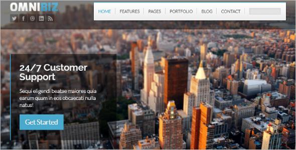 Premium Responsive Website Template